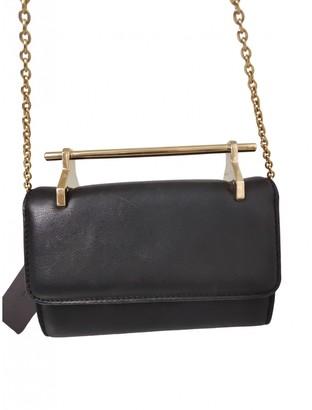 M2Malletier Black Leather Handbags