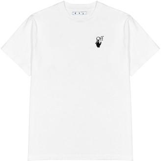 Off-White Pascal Arrow printed cotton T-shirt