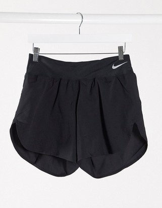 Nike Running Eclipse 5in shorts in black