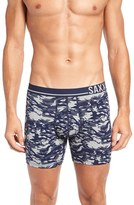 Saxx Men's 3Six Five Stretch Cotton Boxer Briefs