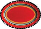 Gibson Elite Pueblo Springs Oval Serving Platter