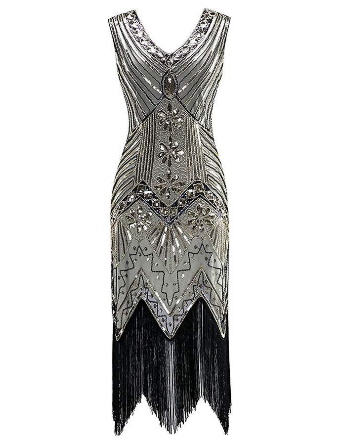 ae6eccfb41a Beaded Flapper Dress - ShopStyle Canada