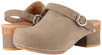 Dansko Marty (Taupe Milled Nubuck) Women's Shoes