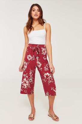 Ardene Super Soft Floral Capri Pants