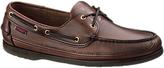 Sebago Schooner Leather Boat Shoes, Brown