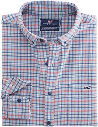 Vineyard Vines San Marino Slim Fit Flannel Tucker Shirt