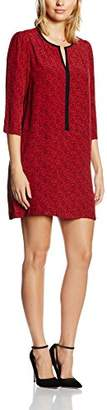 Suncoo Women's H16C03137 3/4 Sleeve Party Dress - Red