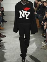 Raf Simons New York Oversized Wool Knit Sweater