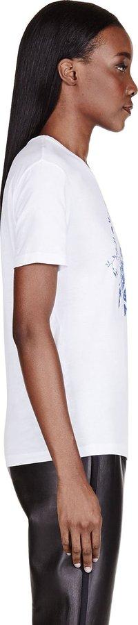 McQ White Monogram T-Shirt