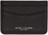 Marc Jacobs Black Leather Gotham Card Holder