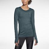 Nike Dri-FIT Knit Long-Sleeve Women's Running Shirt