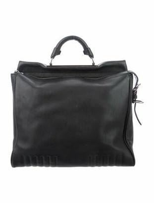 3.1 Phillip Lim Leather Shoulder Bag Blue