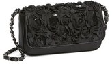 Menbur 'Lassus' Satin Clutch - Black