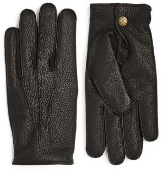 Dents Grained Deerskin Gloves