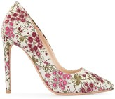 Giambattista Valli floral embroidered pumps