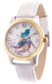 EWatchFactory Disney Frozen 2 Anna Women's Two Tone Alloy Watch 38mm