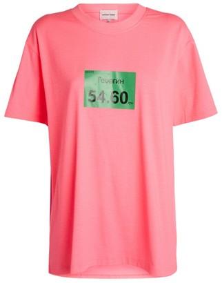 Natasha Zinko Neon Oversized T-Shirt