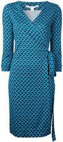 Diane von Furstenberg patterned wrap-dress