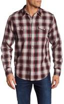 Lucky Brand No Yoke Plaid Classic Fit Western Shirt