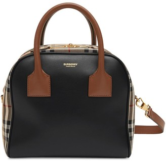 Burberry Check Detail Tote