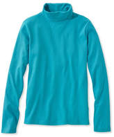 L.L. Bean Pima Cotton Turtleneck, Long-Sleeve