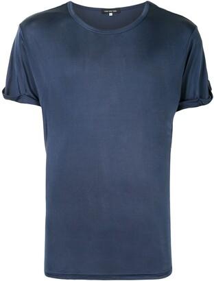 Lisa Von Tang satin T-shirt