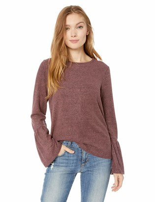 Lucky Brand Women's Jersey Bell Sleeve TOP