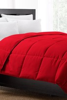 Exquisite Hotel Collection 220 Thread Count Down Alternative Comforter - Red