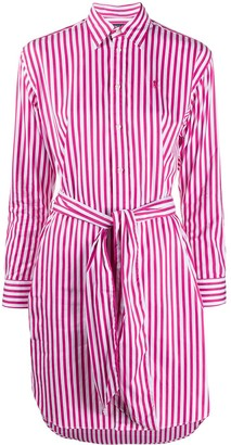 Polo Ralph Lauren striped shirt dress