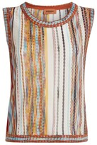 Missoni Sheer Knit Tank Top