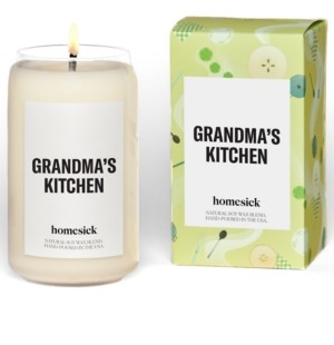 Homesick Candles Grandma's Kitchen Cinnamon Scented Candle