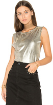 Weslin + Grant The Brix Foil Muscle Tank