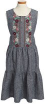 Tea Collection Antonella Chambray Dress (Toddler, Little Girls, & Big Girls)