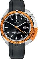 Edox Men's 53200 3OCA NIN Hydro Sub Analog Display Swiss Quartz Black Watch