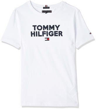 Tommy Hilfiger Boy's Logo Tee S/s T-Shirt