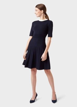 Hobbs Aubrey Knitted Dress