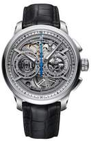 Maurice Lacroix Men's Masterpiece 45mm Black Automatic Watch MP6028-SS001001