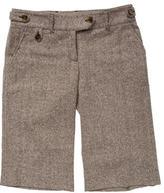 Dolce & Gabbana Wool Knee-Length Shorts