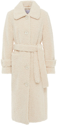 Stand Studio Lottie Faux Shearling Coat