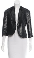 Sachin + Babi Sequin-Embellished Silk Jacket