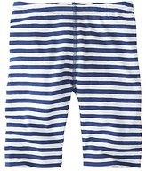 Girls Stripey Bike Shorts