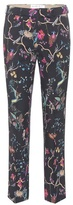 Etro Printed cropped trousers