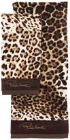 Roberto Cavalli Bravo Set Of 2 Cotton Towels