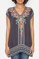 Johnny Was Letty Embroidered Tunic