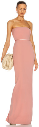 Alex Perry Jasper Gown in Blush | FWRD