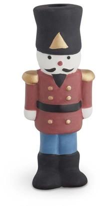 Kähler Christmas Tin Soldier Candle Holder H12.5 cm