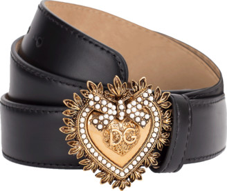 Dolce & Gabbana Black Devotion Belt