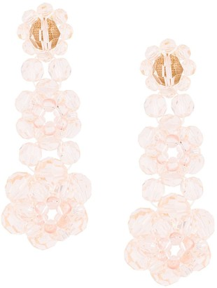 Simone Rocha three tier earrings