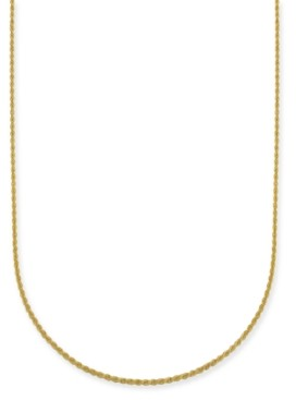 """Giani Bernini Corda 24"""" Chain Necklace in 18k Gold-Plate Over Sterling Silver, Created for Macy's"""