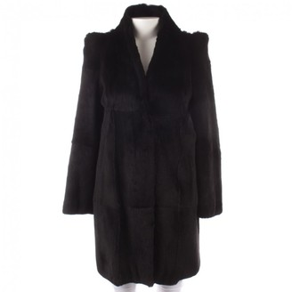 N. Ines Et Marechal \N Black Rabbit Jackets
